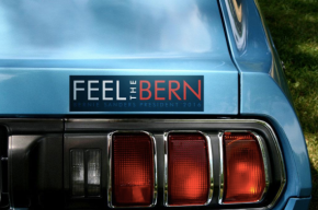 """Local Student: """"I don't know what 'Feel The Bern' means, but it sure has made me a lot offriends."""""""