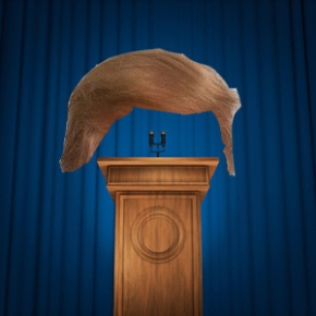 Trump's hair nominated for Nobel PiecePrize