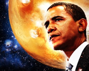 "Obama clarifies: ""I intend to go to Mars in 2030 by myself"""